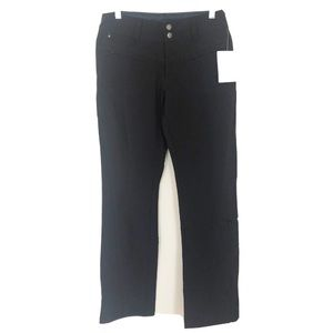 Athleta Hiking Pants Style 929639 Lined Black Sz 0